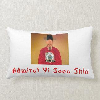 Admiral Yi Soon – shin Accomplishments Throw Lumbar Pillow