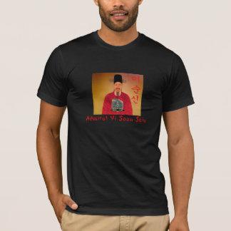 Admiral Yi Soon shin Hangul Black T-Shirt