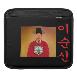 Admiral Yi Soon shin Hangul iPad Sleeve