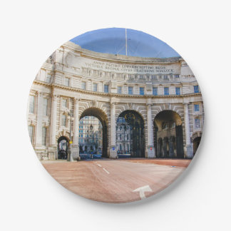 Admirality Arch, The Mall, London United Kingdom Paper Plate