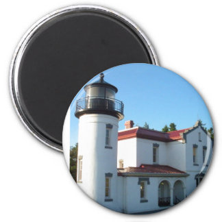 Admiralty Head Lighthouse 2 Inch Round Magnet
