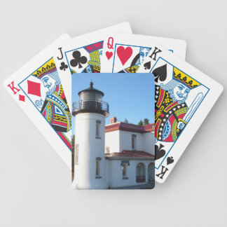 Admiralty Head Lighthouse Bicycle Playing Cards