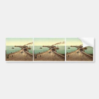 Admiralty Pier, Dover, England rare Photochrom Bumper Stickers