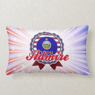 Admire, KS Throw Pillow