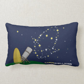 Admire the Stars Constellation Cute Puny Corn Lumbar Pillow