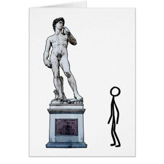 ADMIRING THE ART FORM CARD