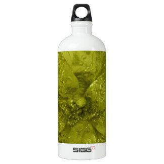 Admiro Kaki Flower Design Water Bottle