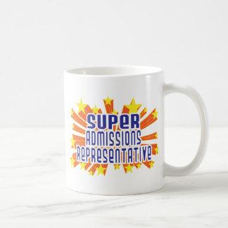 Admisiones estupendas representativas taza de café