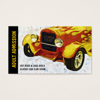 Admission Ticket for Classic Auto Show or Club