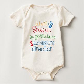 Admissions Director (Future) Child Baby Bodysuit