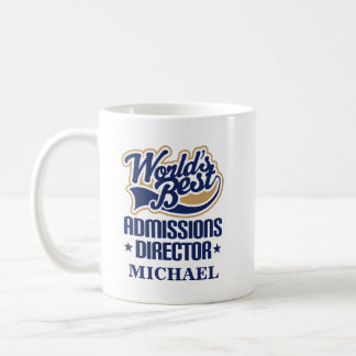 Admissions Director Personalized Mug Gift