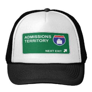 Admissions Next Exit Mesh Hat