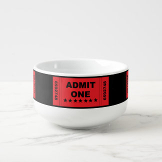 """Admit One"" Bowl"