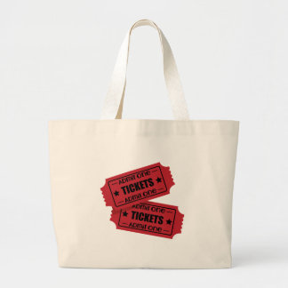 Admit One Large Tote Bag