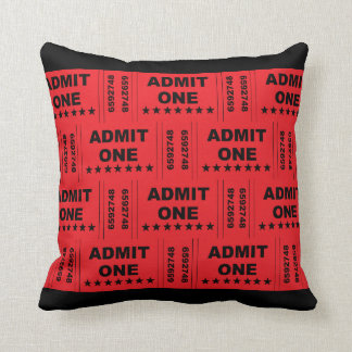 """""""Admit One"""" Pillow"""