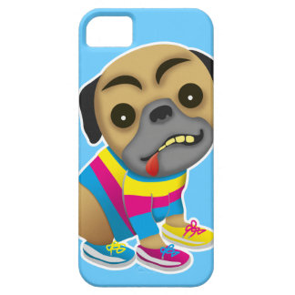 Admits like a multicolored dog iPhone 5 covers