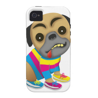 Admits like a multicolored dog vibe iPhone 4 cover