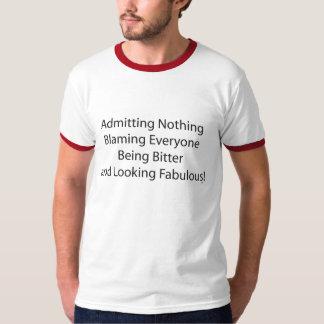 Admitting-nothing Tee Shirts