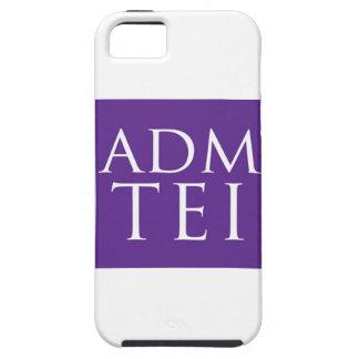 ADMTEI abbreviated logo - purple square iPhone SE/5/5s Case