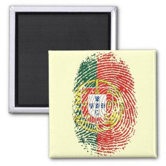 ADN Português (DNA) - Tugas Camisas e Presentes 2 Inch Square Magnet