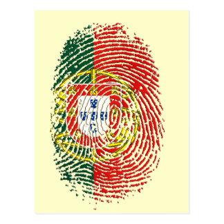 ADN Português (DNA) - Tugas Camisas e Presentes Postcard