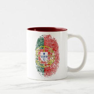 ADN Português (DNA) - Tugas Camisas e Presentes Taza De Café