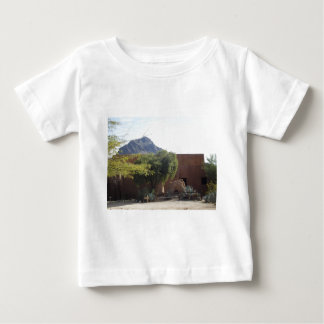 Adobe Building with Trees Baby T-Shirt