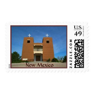 Adobe Church  New Mexico USA Postage