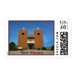 Adobe Church  New Mexico USA Postage