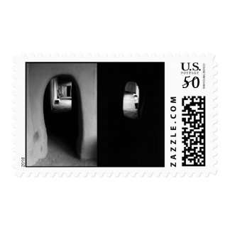 Adobe Corridor: Black and White photos – Medium Postage