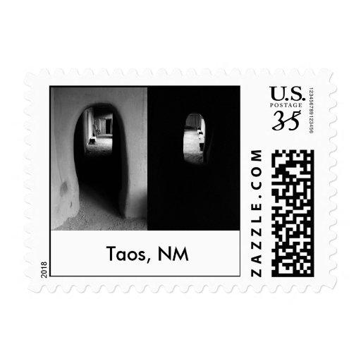 Adobe Corridor: Black and White photos Stamp