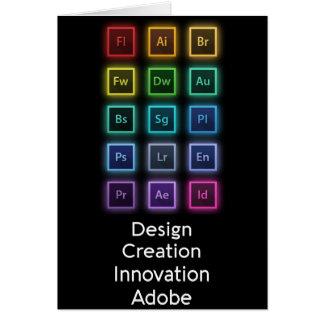 Adobe Creative Suite Card