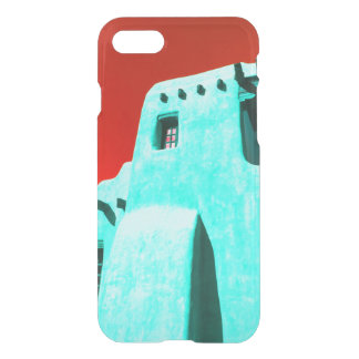 Adobe in coral Red and Turquoise iPhone 8/7 Case