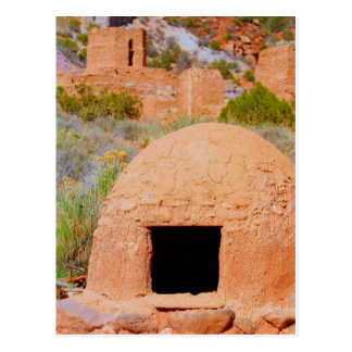 Adobe Oven in New Mexico Postcard