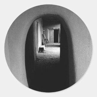 Adobe Passageway: Black & White photo Stickers