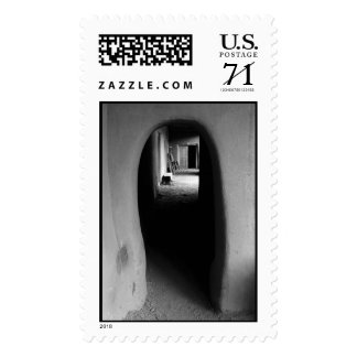 Adobe Passageway: Southwest photo – Large Postage