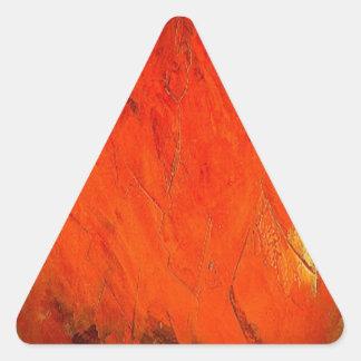 Adobe Shadows Triangle Sticker