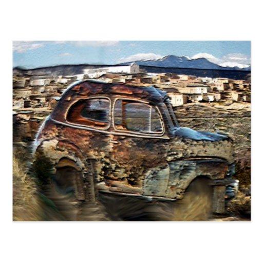 Adobe Town Postcard