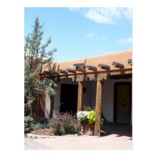 Adobe viejo Santa Fe New México Tarjetas Postales