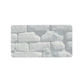 Adobe wall, Death Valley, California, U.S.A. Custom Address Label