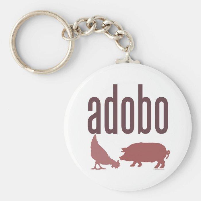 Adobo: Chicken & Pork Keychain