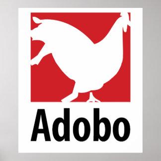 Adobo Chicken Pork Poster