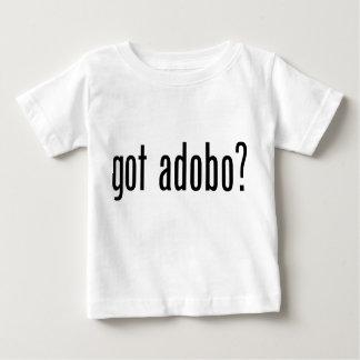 Adobo conseguido playera de bebé