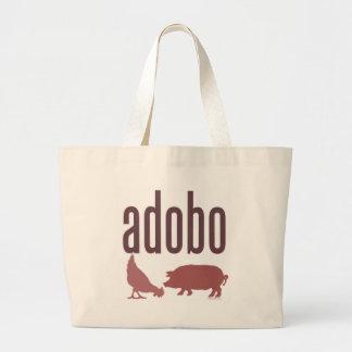 Adobo: Pollo y cerdo Bolsa Tela Grande
