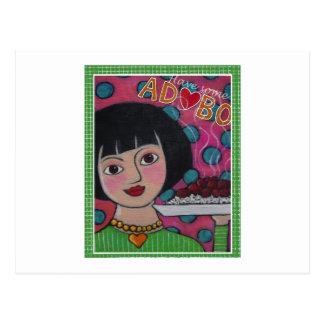 Adobo Postcard