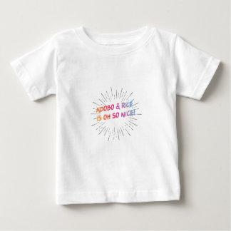 Adobo & Rice is oh so nice! Kids Shirt