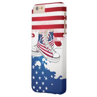 Adolescencias americanas patrióticas funda de iPhone 6 plus barely there