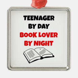 Adolescente del aficionado a los libros del día ornamento para reyes magos