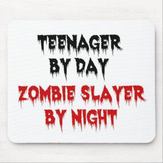 Adolescente del asesino del zombi del día por noch alfombrilla de ratones
