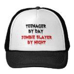 Adolescente del asesino del zombi del día por noch gorro